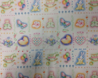 Baby Talk/ Cotton Fabric/ 1-4 Yards