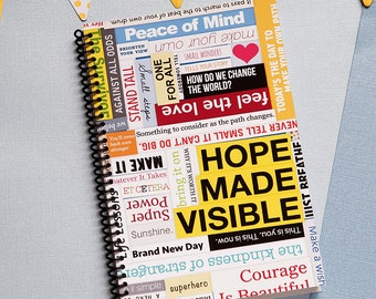 Hope Made Visible Monthly Planner 2018