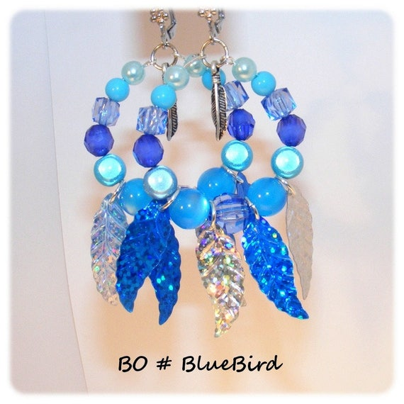 Kind of Designer [BlueBird] - blue earrings