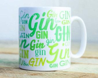 Lots of Gin coffee/tea mug