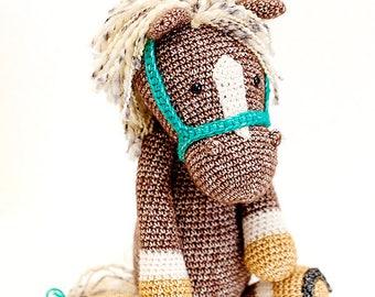 HORSE PIEM handmade animal/studio photography prop/children photography/unique gift/made to order