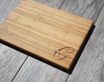 Wedding Gift, Cutting Board, Engraved Cutting Board, Custom Wedding Gift, Engagement Gift, Wedding Present, Personalized Wedding Gift