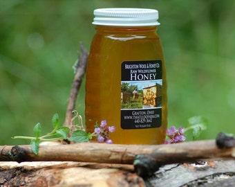 Raw, Wildflower Ohio Honey 8 oz.