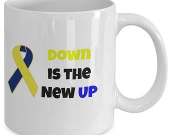 Down Is The New Up Coffee Mug