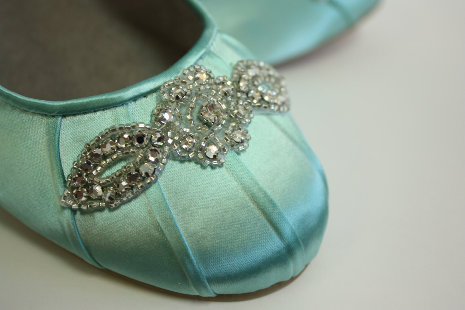 Wedding Shoes Ballet Flats Wedding Shoe Flats Aqua Blue