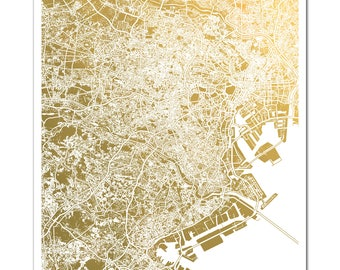 Tokyo map Etsy