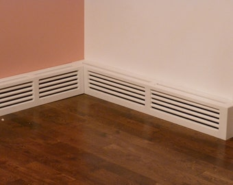 Classic Style Custom Baseboard Heater Covers Custom Sizes