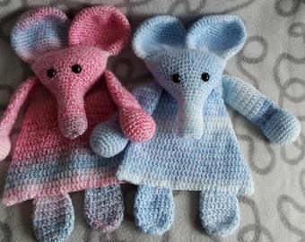Crochet rag doll Elephant