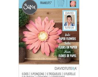 Sizzix Large Daisy Framelits By David Tutera 562396 Scrapbooking & Paper Craft Supplies