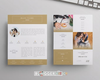 two page media kit template press kit template electronic