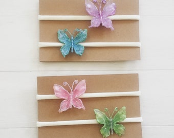 Butterfly Clip and Headband
