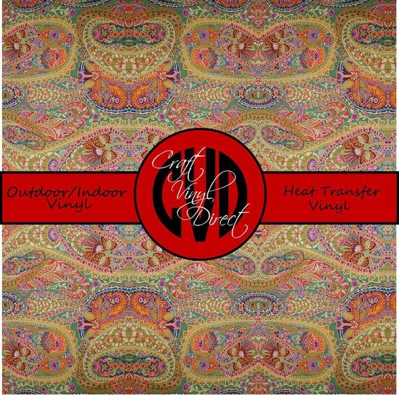 Beautiful Patterned Vinyl // Patterned / Printed Vinyl // Outdoor and Heat Transfer Vinyl // Pattern 291