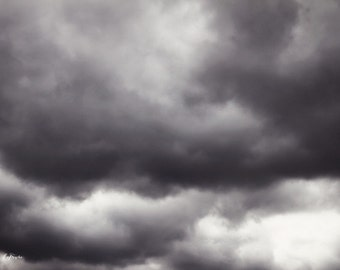 sky drama, clouds, weather, nature, fine art photography