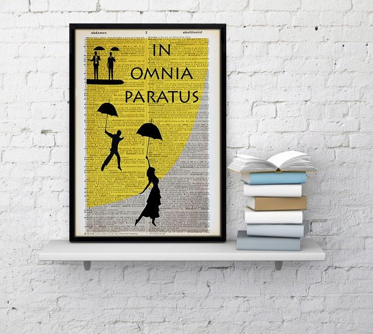 In Omnia Paratus Gilmore Girls Yellow and Gray gilmore girls