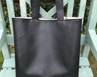 Bag, Handbag, Tote Bag, Black Bag, woodland, Bag, fox, stag, owl