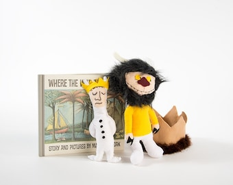 "SINGLE ""Where The Wild Things Are"" Inspired Prop Doll"