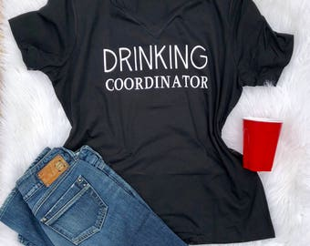 drinking coordinator, boozing shirt, cruise shirt, girls trip shirt, drinking shirt, lake shirt, boat shirt, funny vacation shirt