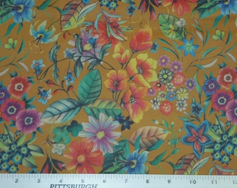 """Leather 12""""x12"""" HONEY WILD DAISIES on Cowhide 3 oz / 1.2 mm PeggySueAlso spring flowers E5200-01"""