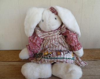 Large Plush Rabbit Bunny         T.L Toys