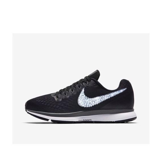 Nike Women's 34 Bling Shoes Swarovski Nike Zoom PEGASUS Air Crystal wqBaq0Y