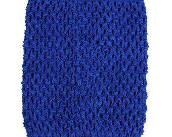 "child adult teen Crochet tutu top elastic tube 1-16 years DIY flower girl wedding dress birthday costume royal 6"" 7"" 8"" 10"" 12"" 14"""