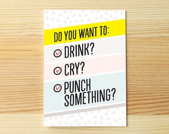 Drink cry punch