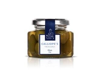 olives,  green olives in salt snack food