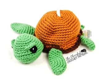 Amigurumi Turtle Pattern : Crochet pattern sea turtle by krawka turtle tortoise sea