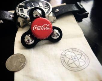 Coca Cola Bottle Cap Fidget Spinner - -Coke - EDC Spinner - Fidget Toy - 3D Printed - Hand Spinner - Bottle Cap - 3D Printed Toy - EDC