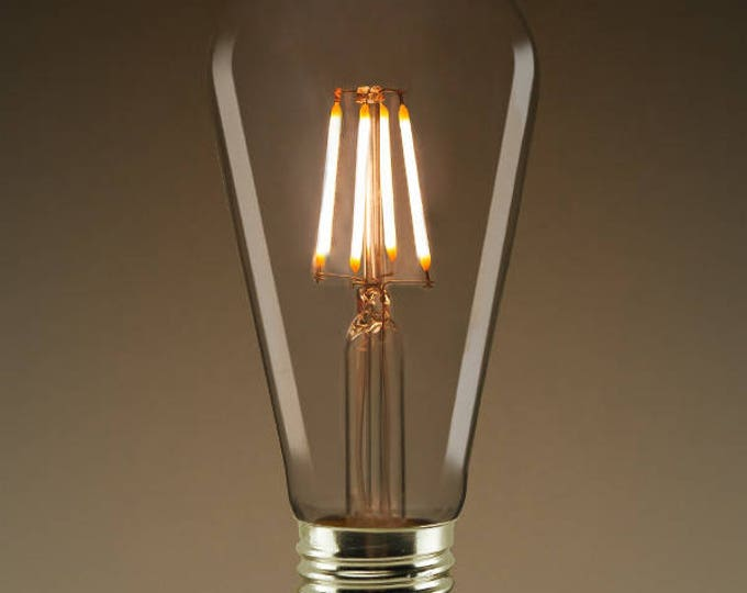 5W LED Edison Bulb 450 Lumens 40 Watt Equivalent, Fully Dimmable, For Fixture Customers Only