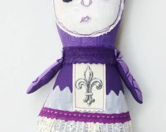 Handmade Art Doll - Nola
