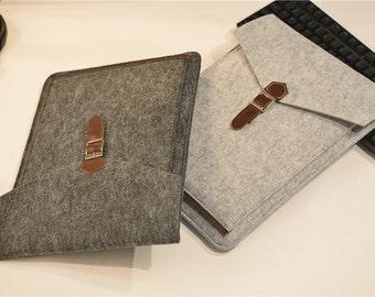 "Felt Laptop Sleeve 15.6 , 15 inch Laptop Case , Touch Bar 13"" Macbook Pro Sleeve, 15.6 Laptop Sleeve , 15.6 inch Laptop Bag #205"