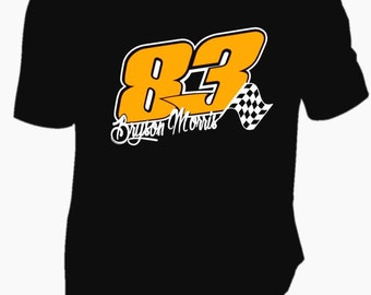 Lovely Custom Racing Shirts! Design Your Own Your Number Your Name And Saying!