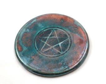 Pentagramm Altar Fliesen handgemacht