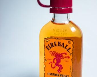 Fireball Cinnamon Whisky Ornament— Fireball Themed Christmas Tree Ornament