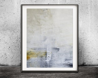 Modern Print Abstract Printable Wall Art Digital Download Print Home Decor Yellow Taupe Gray Art Abstract Painting Minimalist Contemporary
