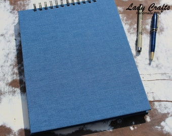 Sketch Book in Denim