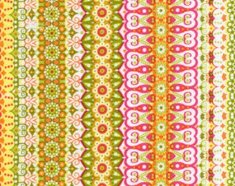 Catalina Pink California Dreamin' by Jenean Morrison, OOP Fabric, Hard to find  by the HALF Yard