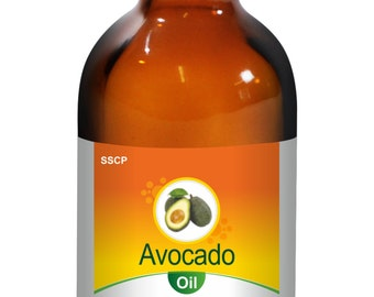 Avocado Oil -Pure & Natural - 15 ml to 250 ml