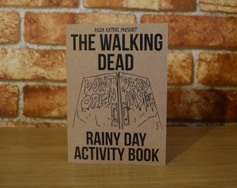 The Walking Dead Rainy Day Colouring & Activity Book