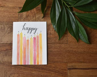 Birthday Card, Happy Birthday, Greeting Card, Happy Birthday Card