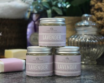 Lovely Lavender Coconut Oil Hand and Body Cream - Natural, Soothing Vegan