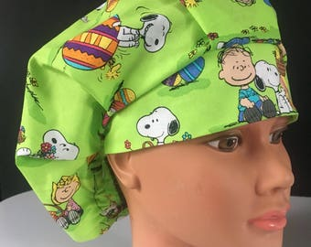 Peanuts Easter Surgical Hat