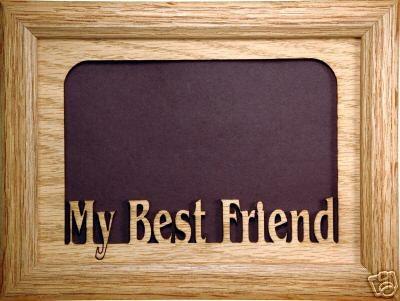 My Best Friend Picture Frame - Best Friend Frame, Friend Frame ...