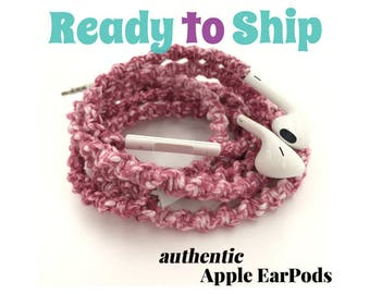 iPhone Geschenke verpackt Ohrhörer für iPhone, handgemachte iPhone Ohrhörer, Design Ohrhörer, benutzerdefinierte Ohrhörer, iPhone EarPods, Tangle kostenlos Ohrstöpsel