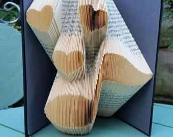Music Lover Book Folding Pattern 197f, Plus free beginners tutorial