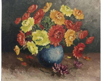 Still Life Vase with Flowers
