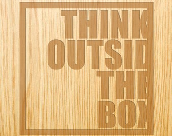 Think Outside the Box - Image Design Library