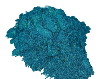 Viper Turquoise Blue  Mineral Makeup Eye Shadow 5g Sifter Jar Eyeshadow Natural Mica Vegan Irridescent