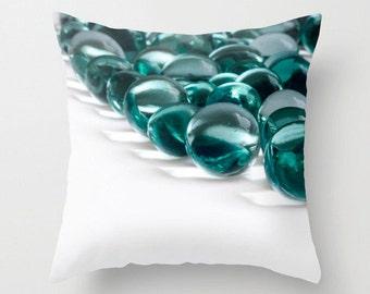 Pillow Bubbles Photo Cover Throw Pillow Cover Pillow Cover Throw Pillow Art Cover Green 16x16 18x18 20x20 holiday gift idea photo pillow